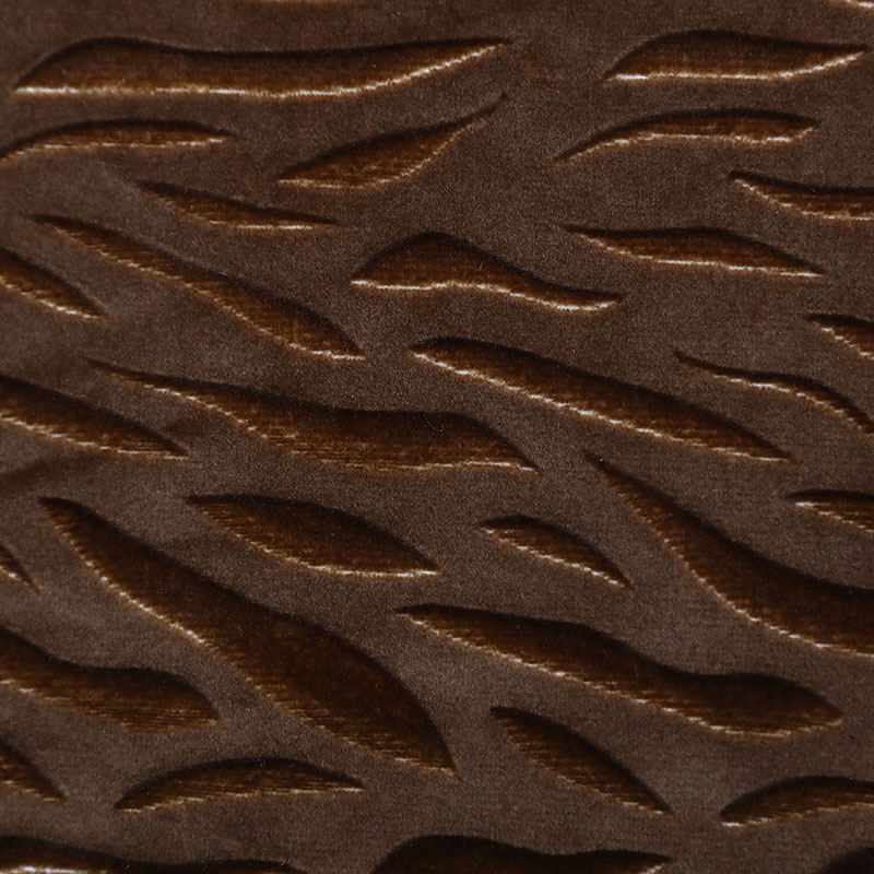 轻质涤纶家纺豹纹坐垫面料