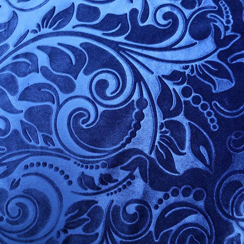 优质100%涤纶针织绒布3D压花面料