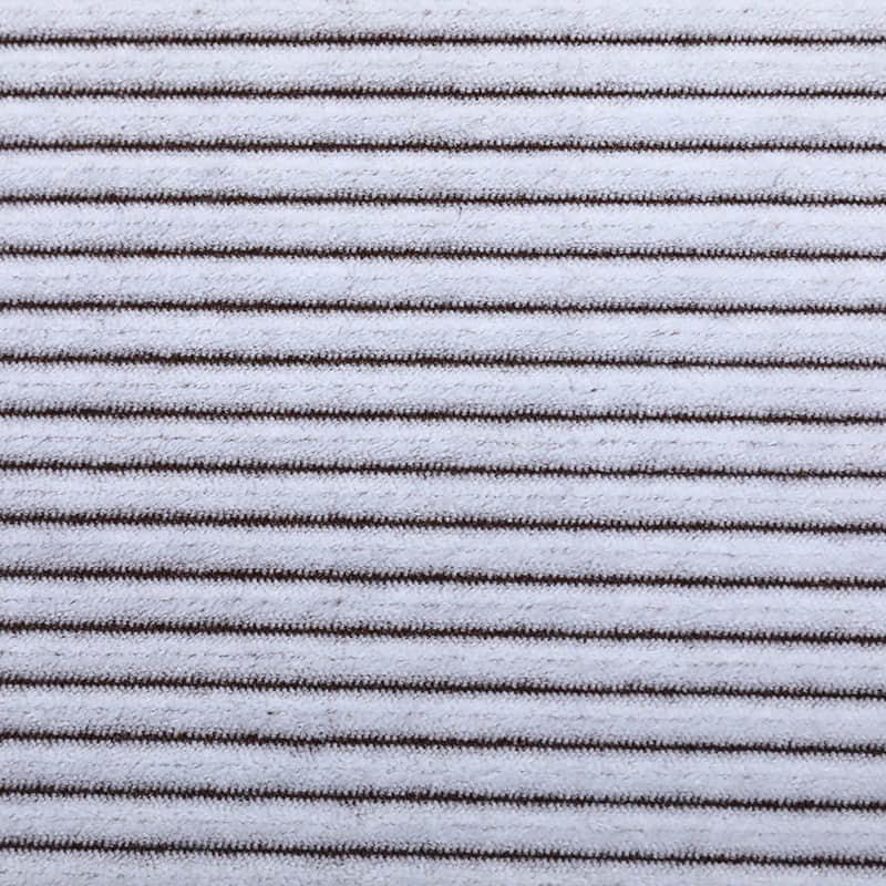批发经编针织绒布定制涤纶双色柔软毛毯用面料